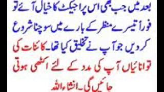 POWER OF MIND in urdu