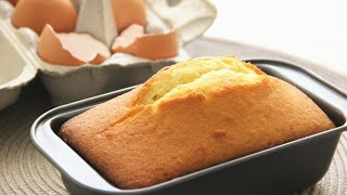 Simplest and Easiest Butter Pound Cake零失败奶油磅蛋糕