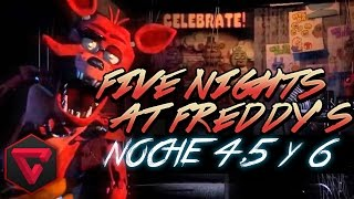 FIVE NIGHTS AT FREDDY'S 1:¡FINAL ÉPICO! - NOCHES 4,5 Y 6 | iTownGamePlay