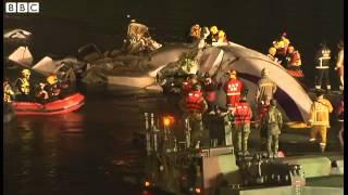 BBC News   ;Bridge planned in TransAsia Airways plane rescue effort