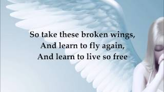 Mr Mister - Broken Wings (lyrics on screen)