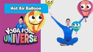 Hot Air Balloon Pose | Yoga Pose Universe