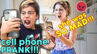 KID MAKES HIS MOM JEALOUS WITH IPHONE PRANK! (SO FUNNY) | The Royalty Family