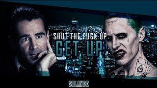 Joker & Bullseye - Get Up   Colin Farrell and Jared Leto