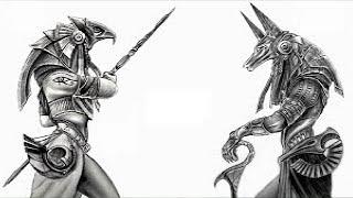 God Horus Insults God Anubis