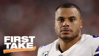 First Take reacts to Monday Night Football's Cowboys vs. Cardinals | First Take | ESPN