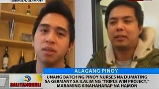 Pinoy nurses na dumating sa Germany sa ilalim ng