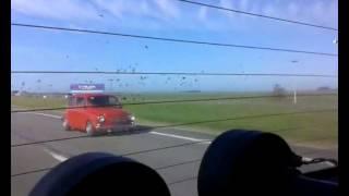 Fiat 600 superando VW FOX