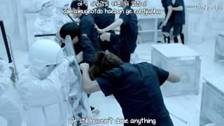 BTS - N.O MV [English subs + Romanization + Hangul] HD