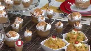 Mulheres - Arroz cremoso de frango e caramelo cremoso (29/10/15)