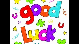 *Good Luck wishes, SMS, Whatsapp video, All the best message for Exams