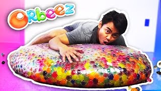 WUBBLE BUBBLE GIANT ORBEEZ EXPERIMENT!