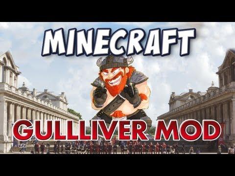 Minecraft Gulliver Mod Grow to Giant size or Shrink to Tiny