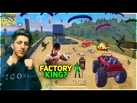 Factory King As Gaming Only Factory Roof Challenge Turn Into Booyah Monster Truck Garena Free Fire
