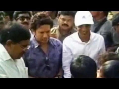 Sachin Tendulkar adopts village in Andhra Pradesh; promises Wi-Fi, school