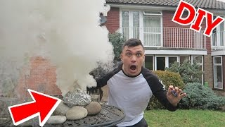 DIY SMOKE BOMB!! (WORLD'S BIGGEST HOMEMADE)