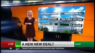 Progressive Dems want 'Green New Deal'