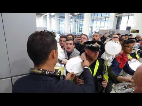 Manchester goes wild for Cristiano Ronaldo!