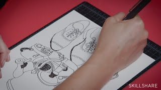 Trailer: Create Wallpaper using Hand-Drawn Illustrations with Julia Rothman