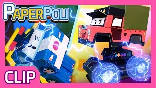 """Watch out guys! Poacher is attacking us!"" 
