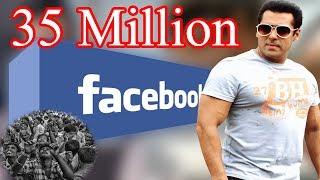 भाईजान ने फेसबुक पर रचा बड़ा इतिहास। 35 Million Followers PBH News