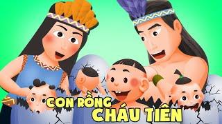 Con Rồng cháu Tiên   Truyện dân gian hay cho bé   Phim hoạt hình Việt Nam hấp dẫn