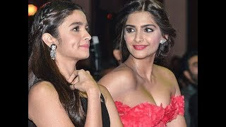 Sonam kapoor Wedding and Alia Bhatt Enjoy