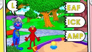 Sesame Street: Super Grover in Make a Word Game