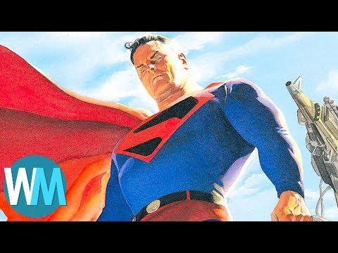 Xxx Mp4 Top 10 Times Superman Was A D Ck 3gp Sex