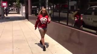 Red hot! Blac Chyna is all smiles despite Rob Kardashian drama