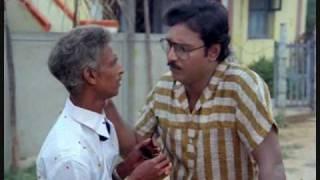 Classic Tamil Movie Scene - Bhagyaraj flirting with neighbor's young wife in Chinna Veedu