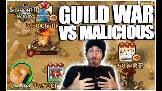 SUMMONERS WAR : Guild War VS Malicious (G3/Legend Guild)