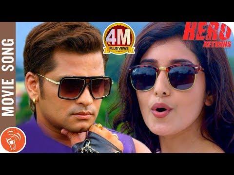 Xxx Mp4 HERO RETURNS New Nepali Movie Title Song 2018 2075 Sabin Shrestha Aanchal Sharma 3gp Sex