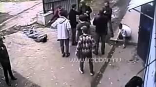 Mass fight outside the Pub