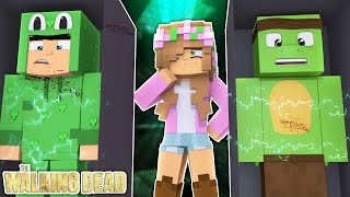LITTLE LIZARD AND TINY TURTLE ARE BEING EXPERIMENTED ON! Minecraft Little Kelly | The Walking Dead
