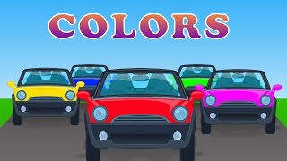 Street Vehicles With Color | Learning Vehicles | Car Cartoon | Video For Children