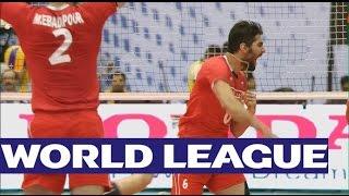 Iran v USA - Highlights - FIVB Volleyball World League 2015