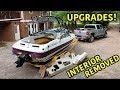 Rebuilding A Super Cheap Wrecked Boat Part 5