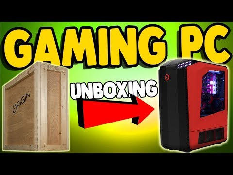 UNBOXING GAMING PC SUPER COMPUTER | Origin PC Build - Specs & Info in Description