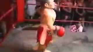 Un combat de boxe de nains ENORME !!!!