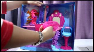 Barbie The Pearl Princess Mermaid Salon Toy Play Set Unboxing