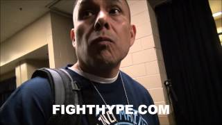 EVERLAST REP COMMENTS ON MAIDANA'S GLOVES IN QUESTION FOR MAYWEATHER FIGHT