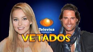 Angelique Boyer y Sebastián Rulli vetados de Televisa