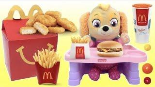 Best Learn Colors Videos BABY Skye PAW PATROL Mr Doh Eats McDonald