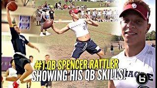 #1 QB & Basketball Star Spencer Rattler Showing WHY HE