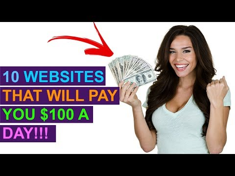 10 Websites You Can Make $100 A Day From Online! (No Special Skills)