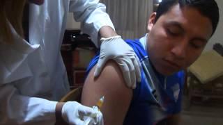 inyeccion intramuscular (hombro... complejo b)
