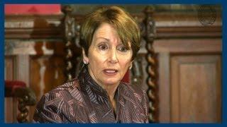 Lobbying Against Guns   Nancy Pelosi   Oxford Union