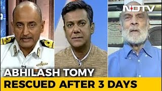 The Incredible Rescue Of Commander Abhilash Tomy