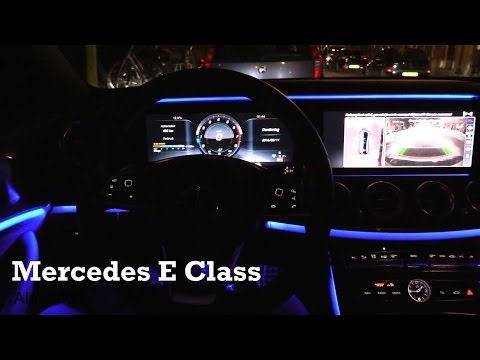 2017 Mercedes E Class - interior Review